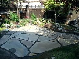 flagstone patio cost. Beautiful Patio Beautiful Flagstone Patio Cost Slate Concrete Vs   Beautiful Intended Flagstone Patio Cost O