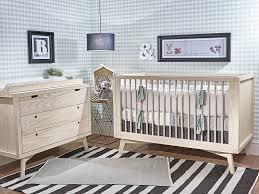 Simply Nursery Retro Crib   Modern Crib   Solid Wood Crib