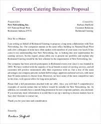 Catering Proposal Letter Impressive Download 44 Catering Proposal Templates Free Sample Example Top