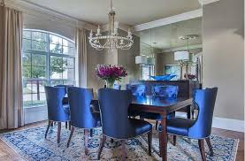 royal blue dining chairs
