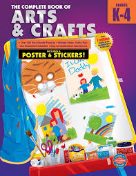 the plete book of arts and crafts grades k 4 specialty publishing 0087577962573 amazon books