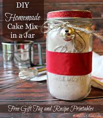 how to make homemade cake mix recipes in a jar never a boxed cake