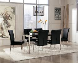 Dining Room Modern Table Chairs Sets Table With White Chairs - Rustic modern dining room chairs