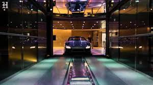 Porsche Design Tower Elevator Take The Elevator To Your Condo Without Leaving Your Car At