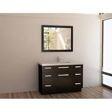 modern sink vanity. Modren Sink Design Element Solid Wood 48inch Quartz Top Modern Single Sink Vanity Set To