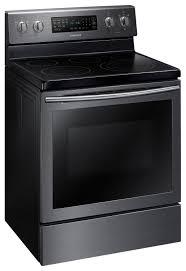 samsung black stainless stove. Exellent Black Samsung Black Stainless Steel Electric True Convection Range 59 Cu Ft   NE59M7630SGAC On Stove N