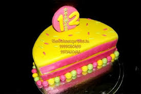 Half Birthday Cake Online Delivey Noida 6 Months Baby Cakes Delivery