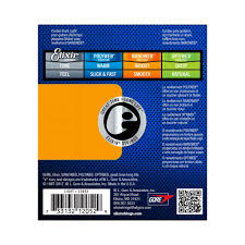 Elixir Nanoweb 12052 10 46 Electric Guitar Strings