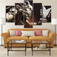 rock wall art posters wall art canvas prints pictures 5 pieces skull rock music paintings living rock wall art  on rock art wall hanging with rock wall art stonemason johnny creating a new dry stone wall