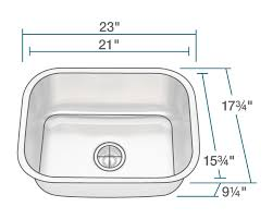 kitchen sink dimensions. Attractive Single Kitchen Sink Dimensions 2318 Bowl Stainless Steel N
