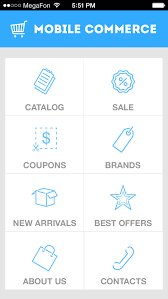 Mobile merce Apps for line Clothing Shoe Stores Shopping Carts