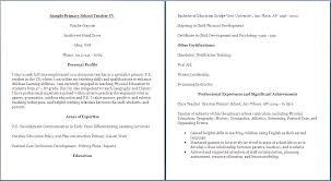 Sample Teacher Cv Uk Best Custom Paper Writing Services