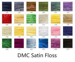 Diy Bns Dmc Satin Floss Rm5 00 Dmc Satin Thread