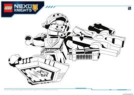 Small Picture LEGO NEXO KNIGHTS COLORING Pages Free Download Printable