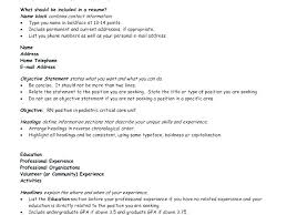 Ideas Of Objective Lines For Resume Stunning Whats A Good Resume