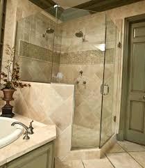 bathtub door frame distinctive with glass