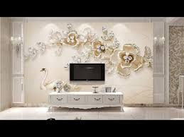 best 3d wallpaper for living room walls 2018 collection