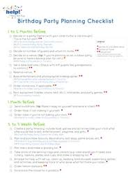 Event Planning Checklist Pdf The Ultimate Birthday Party Planning Checklist Help Weve Got Kids