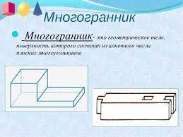 Презентация по геометрии класс по теме Многогранники  Многогранник Многогранник это геометрическое тело поверхность которого сос