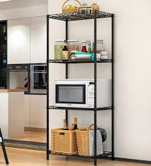 Image Kitchen Designs Pepperfry Steel Kitchen Rack 47 138 Inches By Homeland