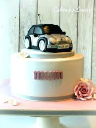 Cake Ideas For Mens 50th Birthday Topper Mini Car By Design Toppers