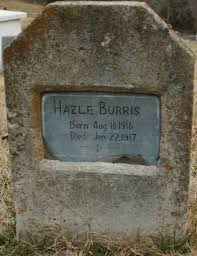 Golda Hazel Burris (1916-1917) - Find A Grave Memorial