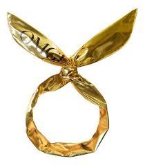<b>Повязка для волос Platinum</b> Hair Band: Gold | www.gt-a.ru
