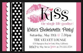 Bachelorette Invitation Template You Get Ideas From This Site