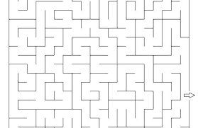 Pac Man Coloring Page Coloring Pages Man Maze Pixel Page Coloring
