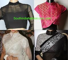 Kolar Design Blouse Collar Neck Blouse Fashion Trends South India Fashion