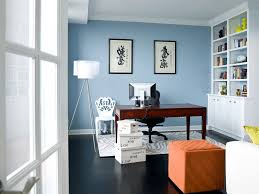 paint colors for home office. Chicago Powder Blue Paint Color Home Office Transitional With Asian Calligraphy Metal Wall Clocks Built-in Shelves Colors For