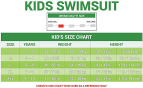 Cressi Shorty Wetsuit Size Chart Cressi Kids Swimsuit 1 5mm Neoprene Suit Boys And Girls 2