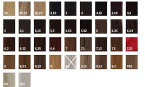 16 Unfolded Luocolor Color Chart