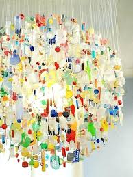 recycled water bottle chandelier impressive plastic bottles chandelier chandelier s s