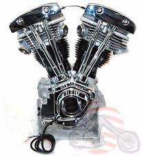 ultima 96 ci chrome natural finish shovelhead engine motor evo