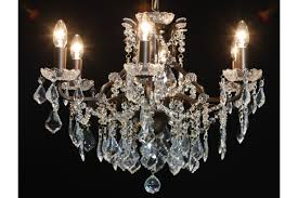 6 branch shallow chandelier
