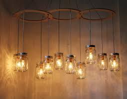 large mason jar chandelier pendant lamp get details