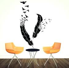>bird wall art design of ideas interior bird wall art flying birds decor abstract feathers serena gossip girl