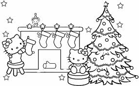 Small Picture Hello Kitty Christmas Coloring Pages fishwolfeboro