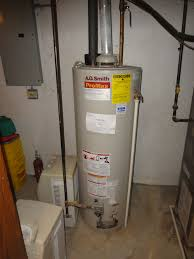 Gas Hot Water Heater Vent Tank Style Water Heater Inspection Racine Home Inspector