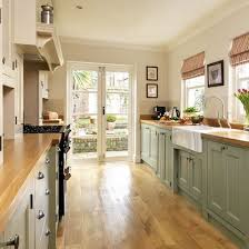 french doors in kitchen. Fine French Galley Kitchen With French Doors House N Home Inside And In