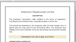 employee termination form template sample employee termination letter employment form pdf malta utah