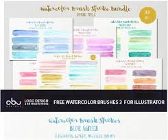 free watercolor brushes illustrator free watercolor brushes for illustrator part 3 abu designs