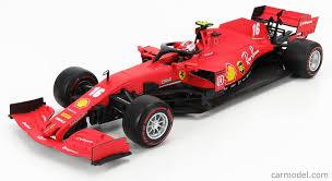 It complements the f1 cockpit theme. Burago Bu16808lr Scale 1 18 Ferrari F1 Sf1000 Team Scuderia Ferrari Mission Winnow N 16 2nd Austrian Gp 2020 C Leclerc With Soft Red Wheels Matt Red