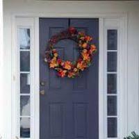 thanksgiving front door decorationsFront Door Thanksgiving Decorating Ideas  themontecristoscom