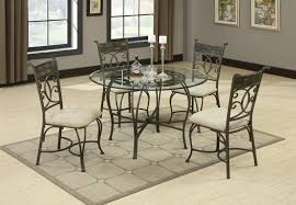 sheridan grey metal and glass dining table set steal a sofa contemporary kitchen sets sheridan