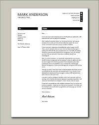 hr executive cover letter 1 sle