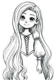 Images For Disney Princess Drawings Rapunzel Amazing Art Work