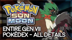 Pokemon Sun & Moon Official Pokedex And Guide Coming Up: What We Know So  Far