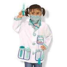 <b>Melissa & Doug</b> Doctor Role Play Costume Dress-Up Set (7pc ...
